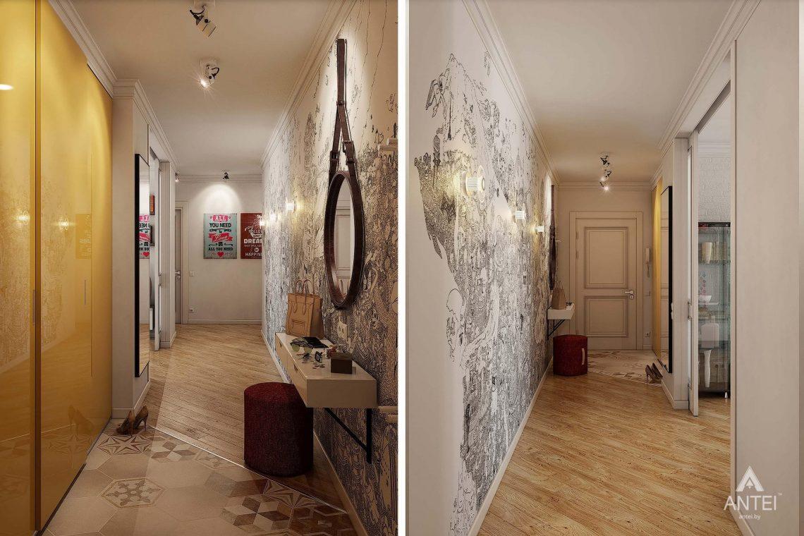 Дизайн интерьера квартиры в Минске - прихожая фото №1