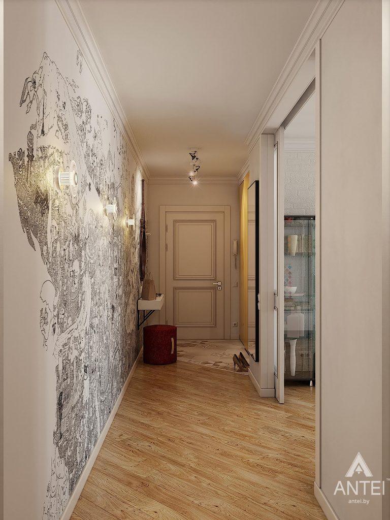 Дизайн интерьера квартиры в Минске - прихожая фото №2