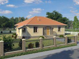 Проект одноэтажного дома «КО-6»