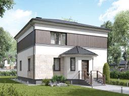 Проект двухэтажного дома «КД-33»
