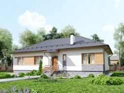 Проект одноэтажного дома «КО-119»
