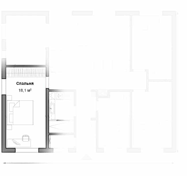 1 этаж (вариант 2)