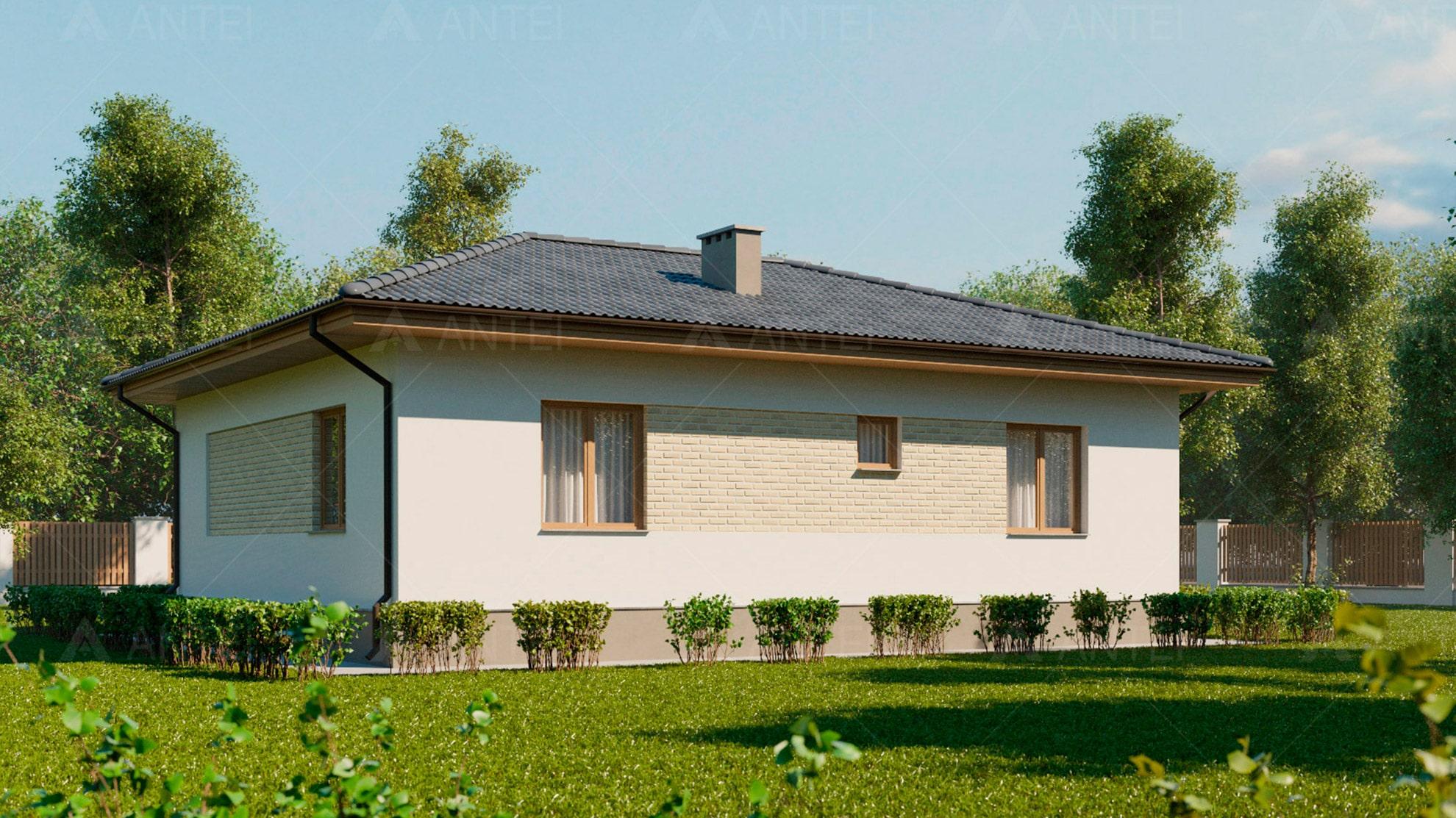 Проект одноэтажного дома «КО-3» - фото №2