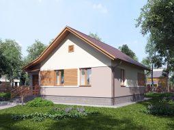 Проект одноэтажного дома «КО-42»