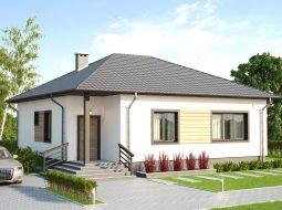 Проект одноэтажного дома «КО-48»