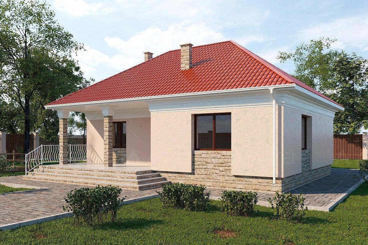 Проект одноэтажного дома «КО-5» - фото №2