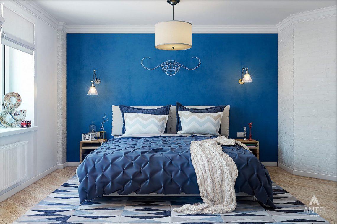 Дизайн интерьера квартиры в Минске - спальня фото №1