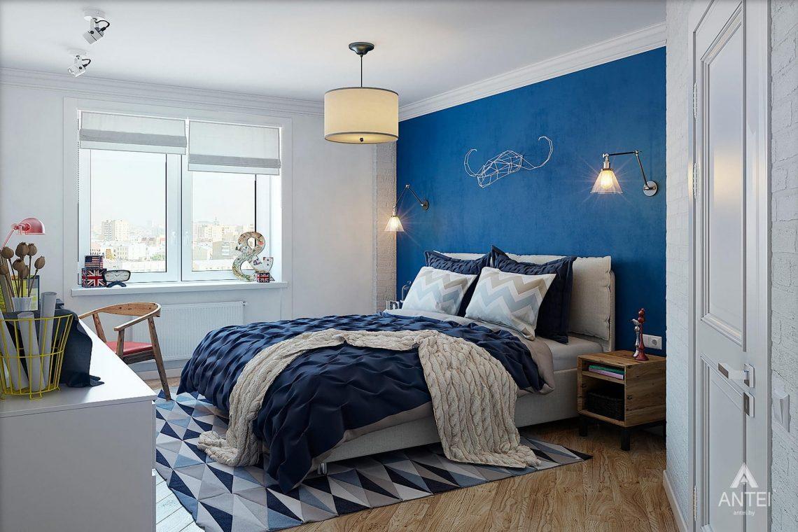 Дизайн интерьера квартиры в Минске - спальня фото №2