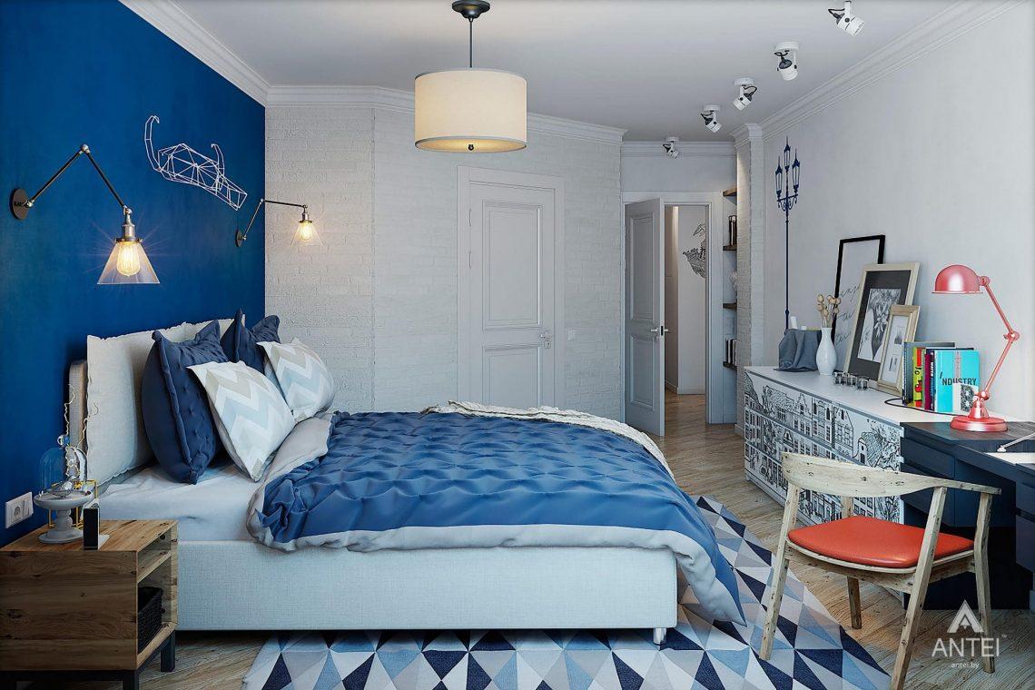 Дизайн интерьера квартиры в Минске - спальня фото №3