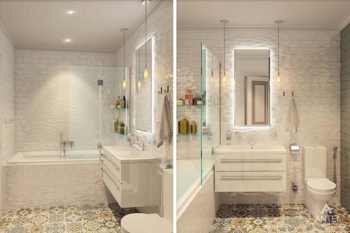 Дизайн интерьера квартиры в Минске - ванная фото №1