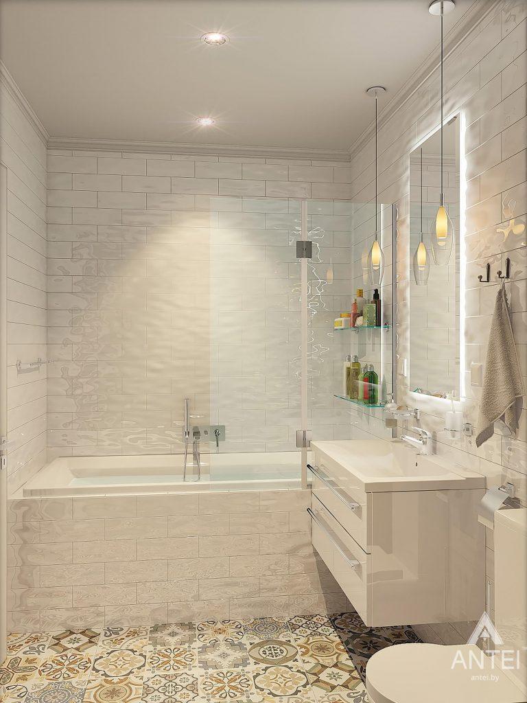 Дизайн интерьера квартиры в Минске - ванная фото №3