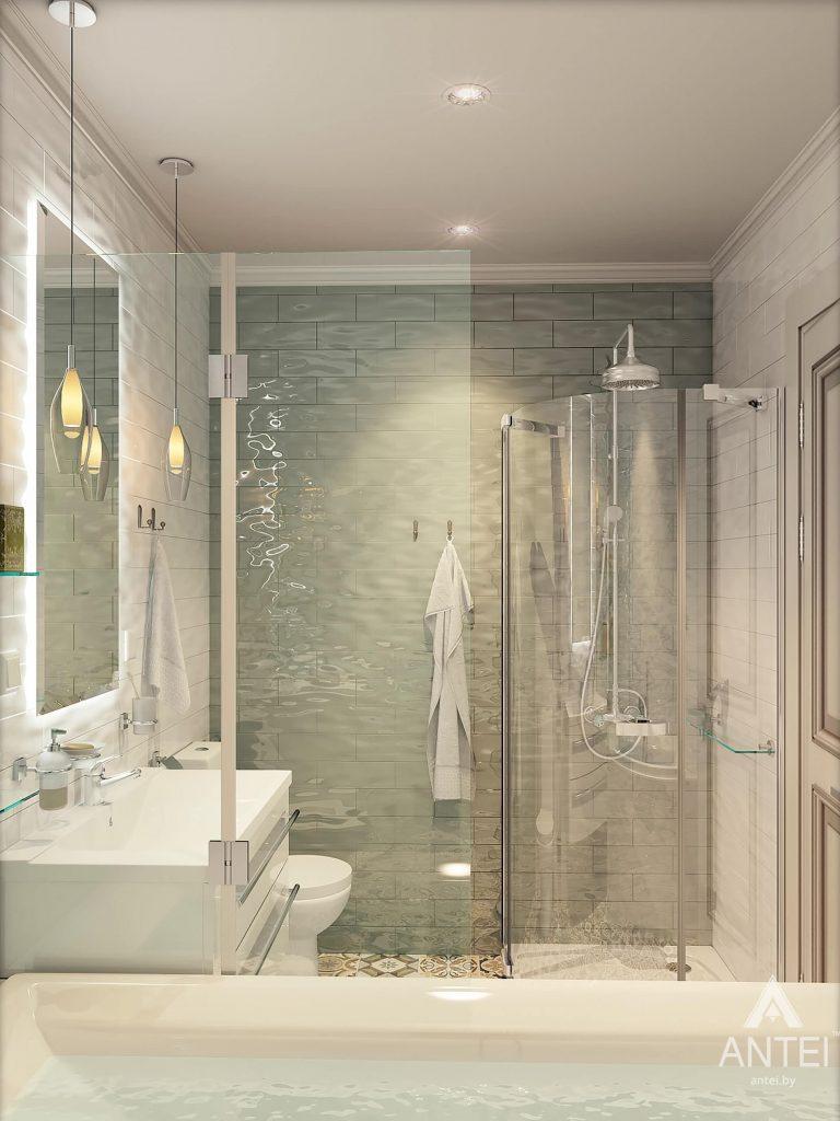 Дизайн интерьера квартиры в Минске - ванная фото №2