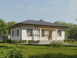 Проект одноэтажного дома «КО-3»