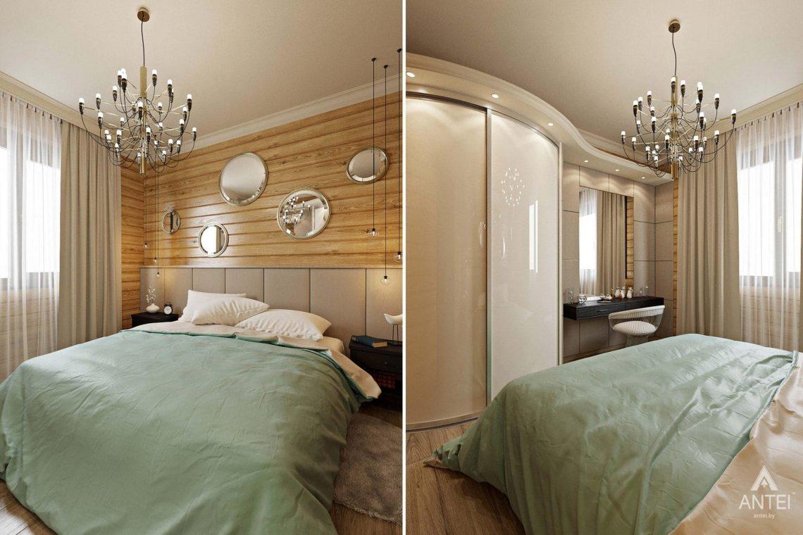 Дизайн интерьера загородного дома в Гомельском районе - гостевая спальня фото №1