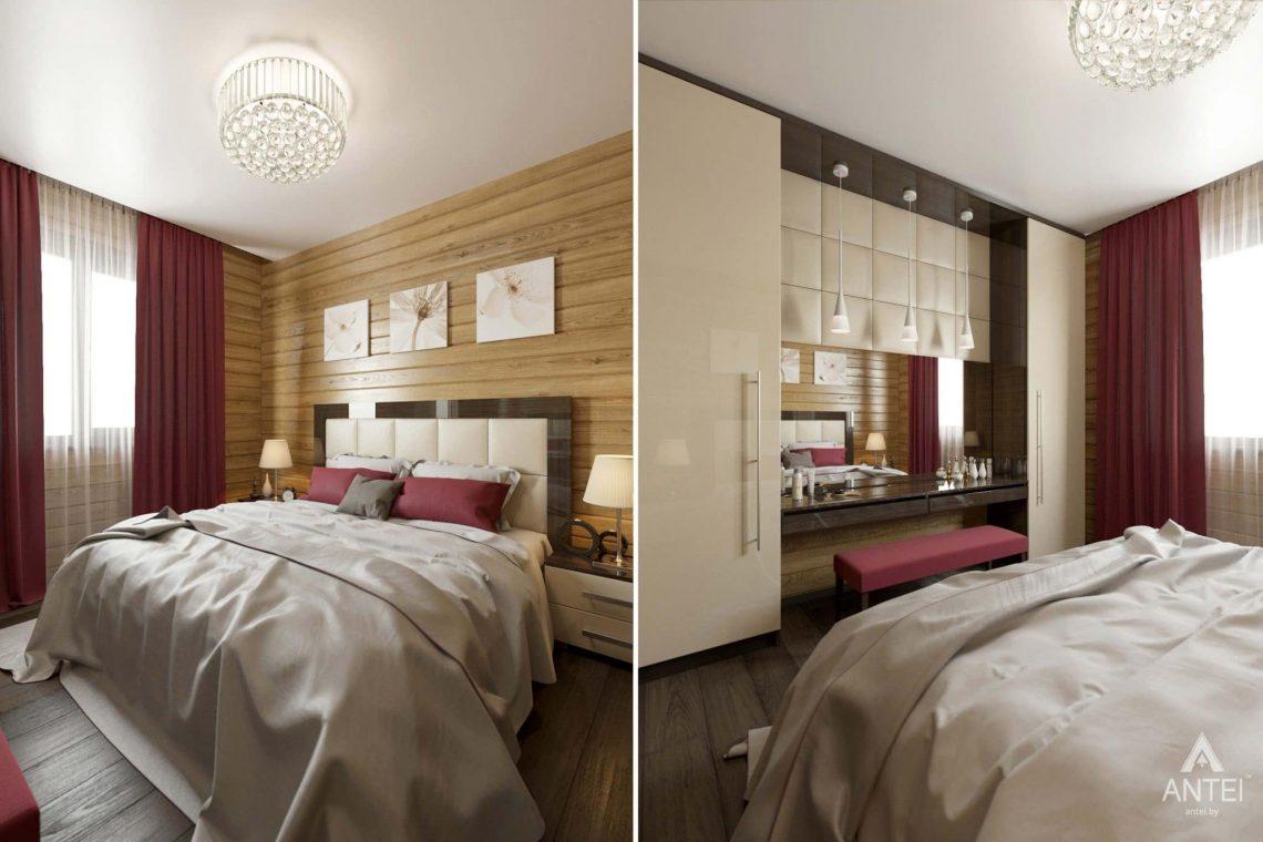Дизайн интерьера загородного дома в Гомельском районе - гостевая спальня фото №2