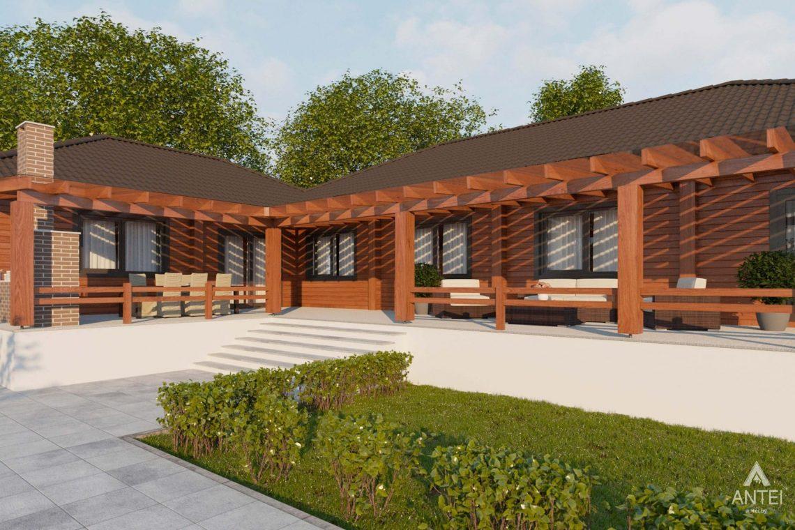 Дизайн интерьера загородного дома в Гомельском районе - терраса фото №2