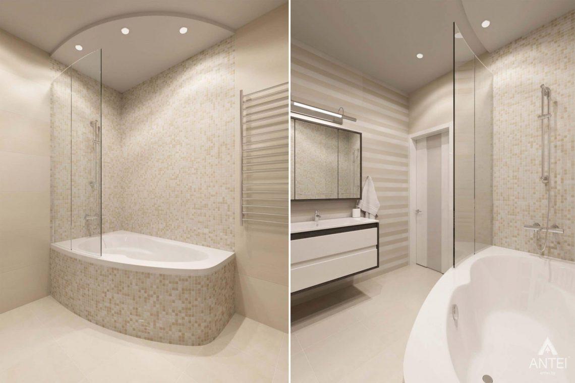 Дизайн интерьера загородного дома в п.Цегельня, Гомельский р-н - ванная фото №2
