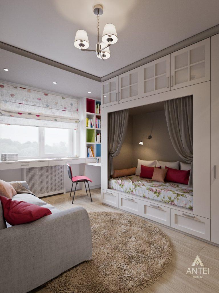 Дизайн интерьера двухкомнатной квартиры в Гомеле - детская комната фото №1