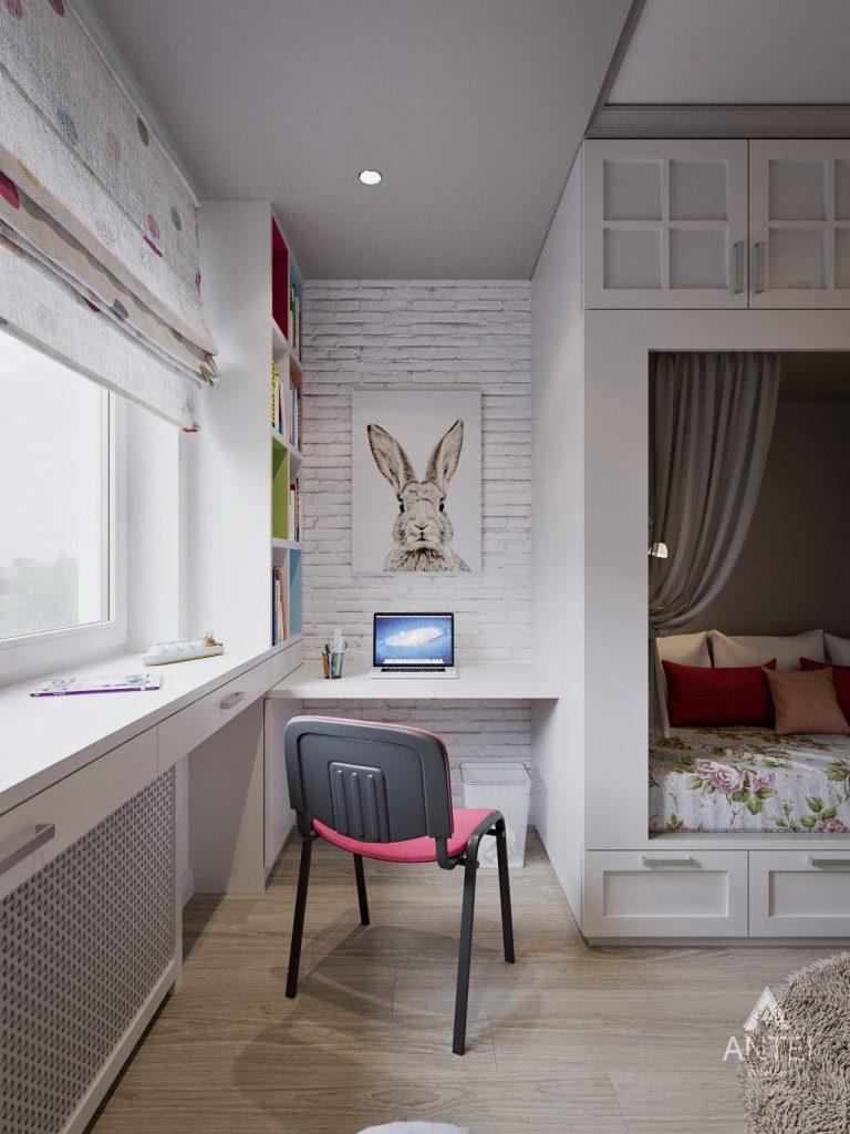 Дизайн интерьера двухкомнатной квартиры в Гомеле - детская комната фото №4