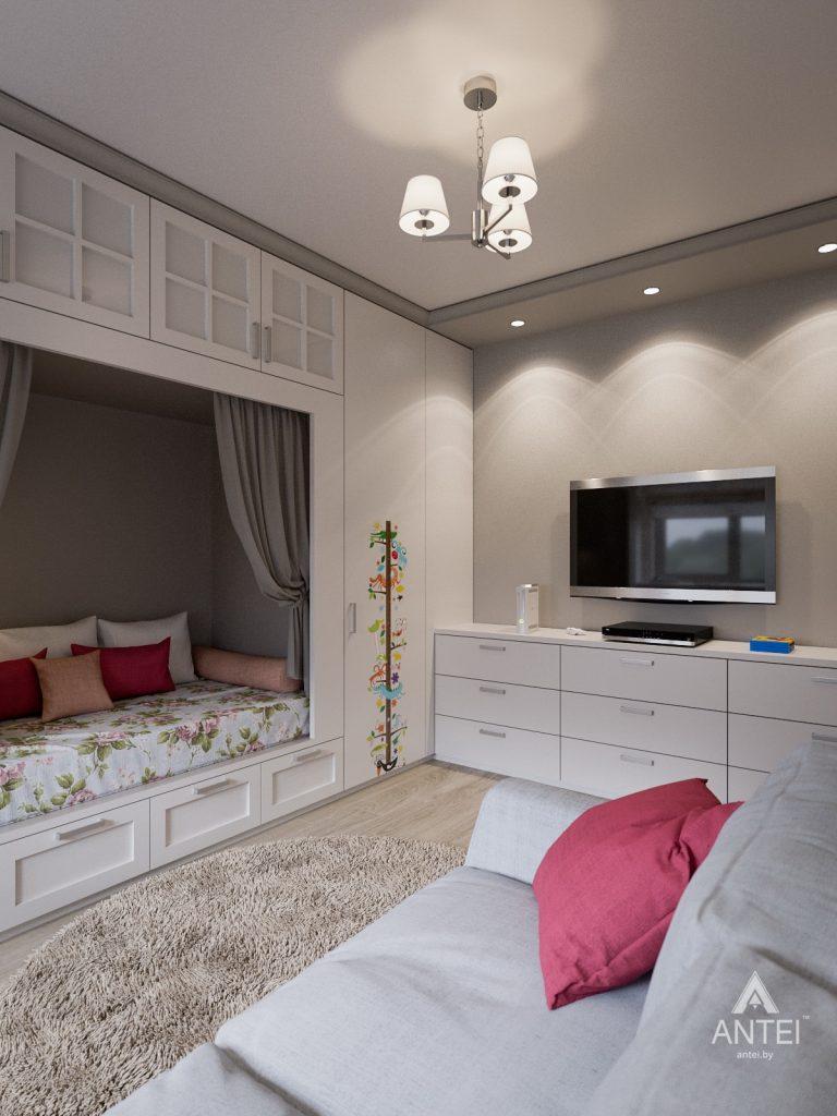 Дизайн интерьера двухкомнатной квартиры в Гомеле - детская комната фото №3