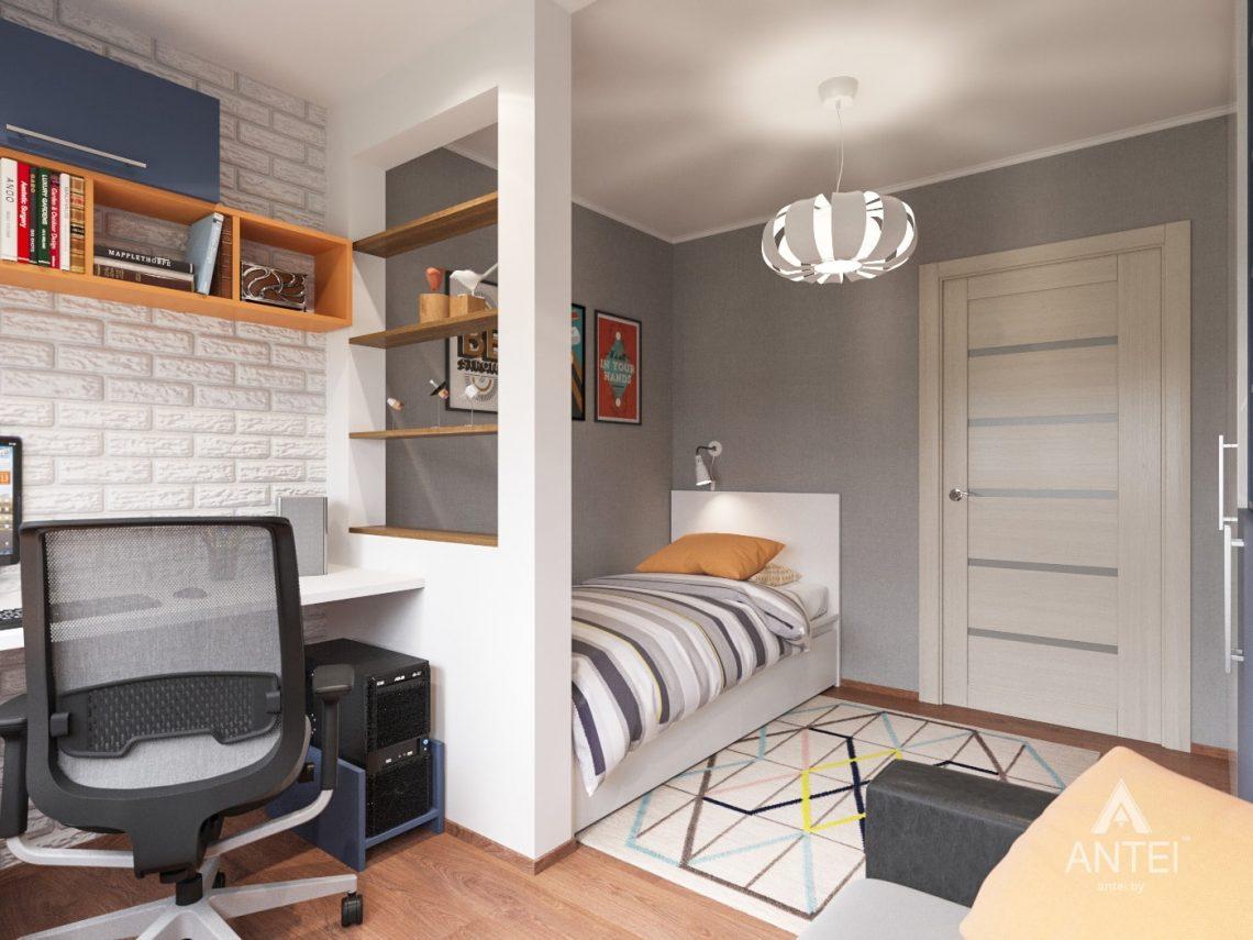 Дизайн интерьера трехкомнатной квартиры в Рогачеве - детская комната фото №2