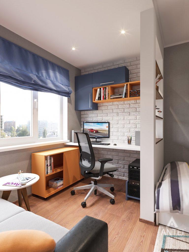 Дизайн интерьера трехкомнатной квартиры в Рогачеве - детская комната фото №3
