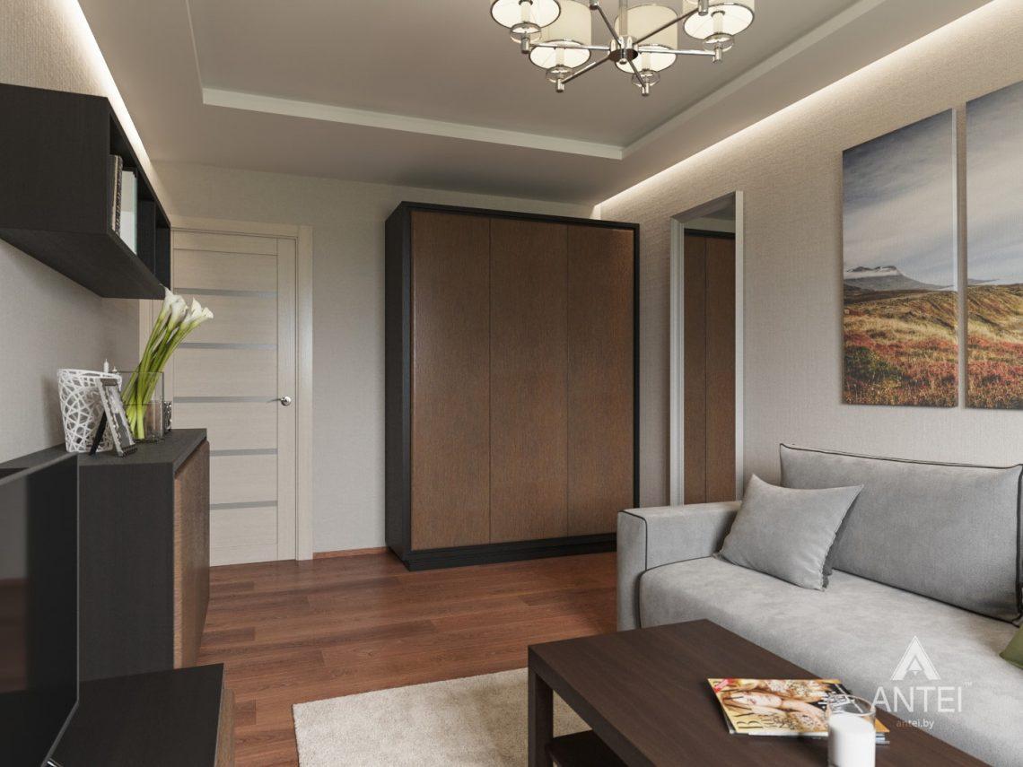 Дизайн интерьера трехкомнатной квартиры в Рогачеве - гостиная фото №3