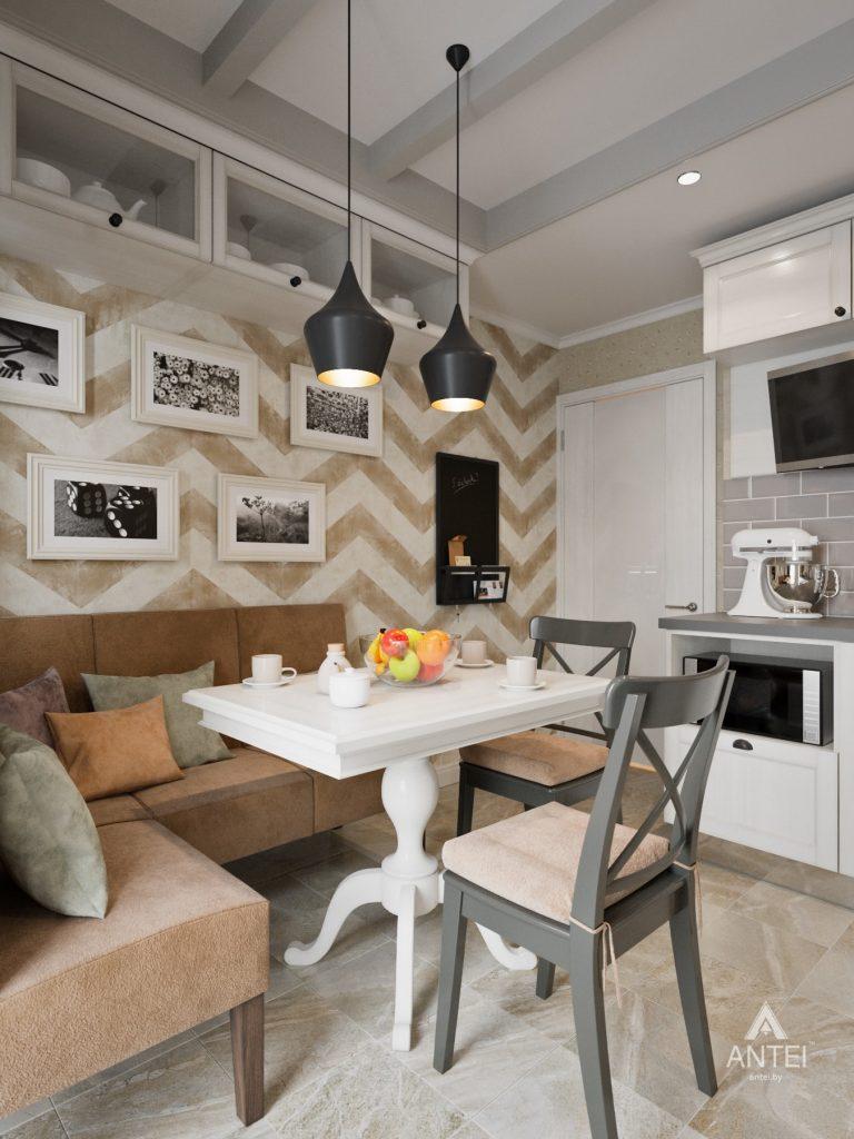 Дизайн интерьера двухкомнатной квартиры в Гомеле - кухня фото №4