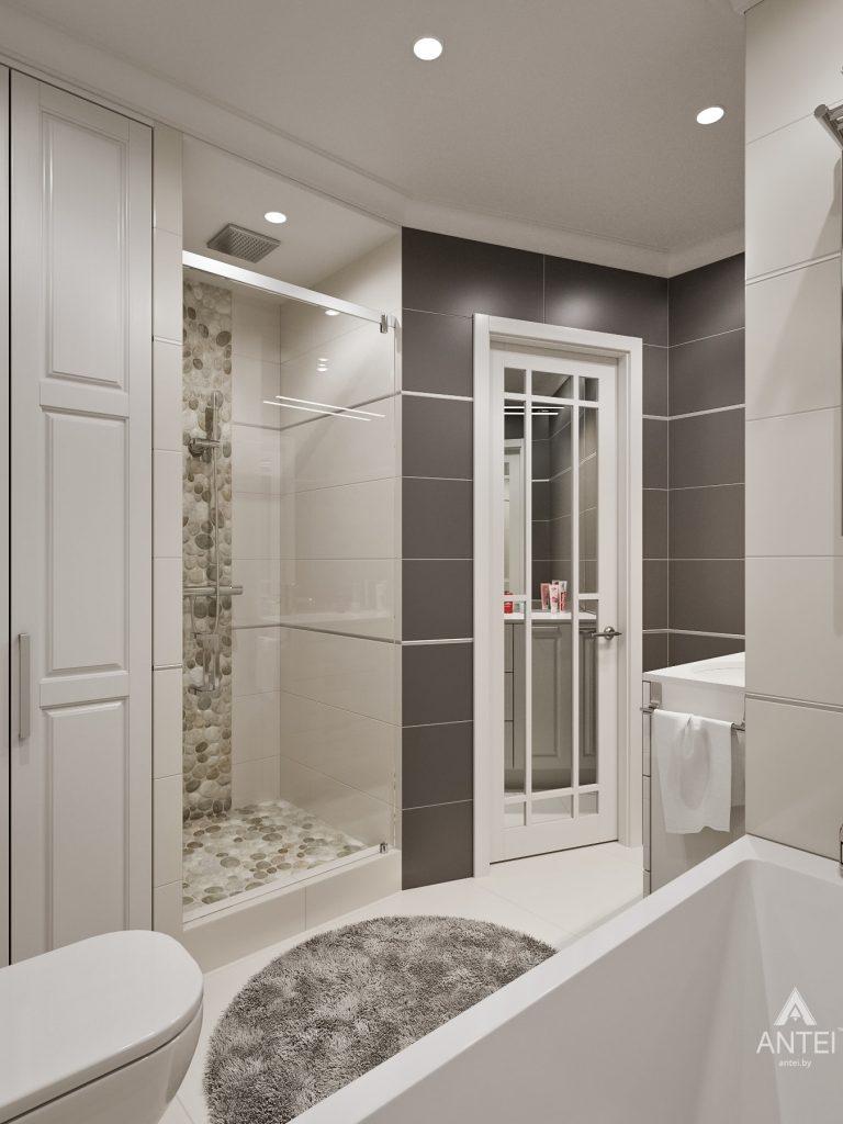 Дизайн интерьера двухкомнатной квартиры в Мозыре - ванная фото №2
