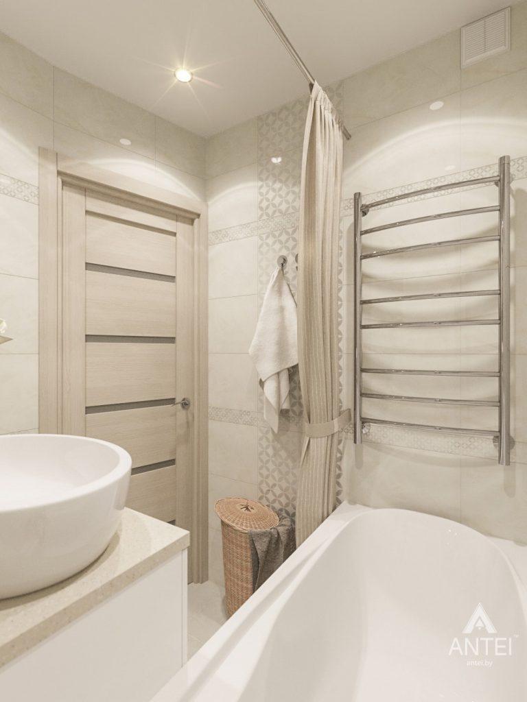 Дизайн интерьера трехкомнатной квартиры в Рогачеве - ванная фото №3