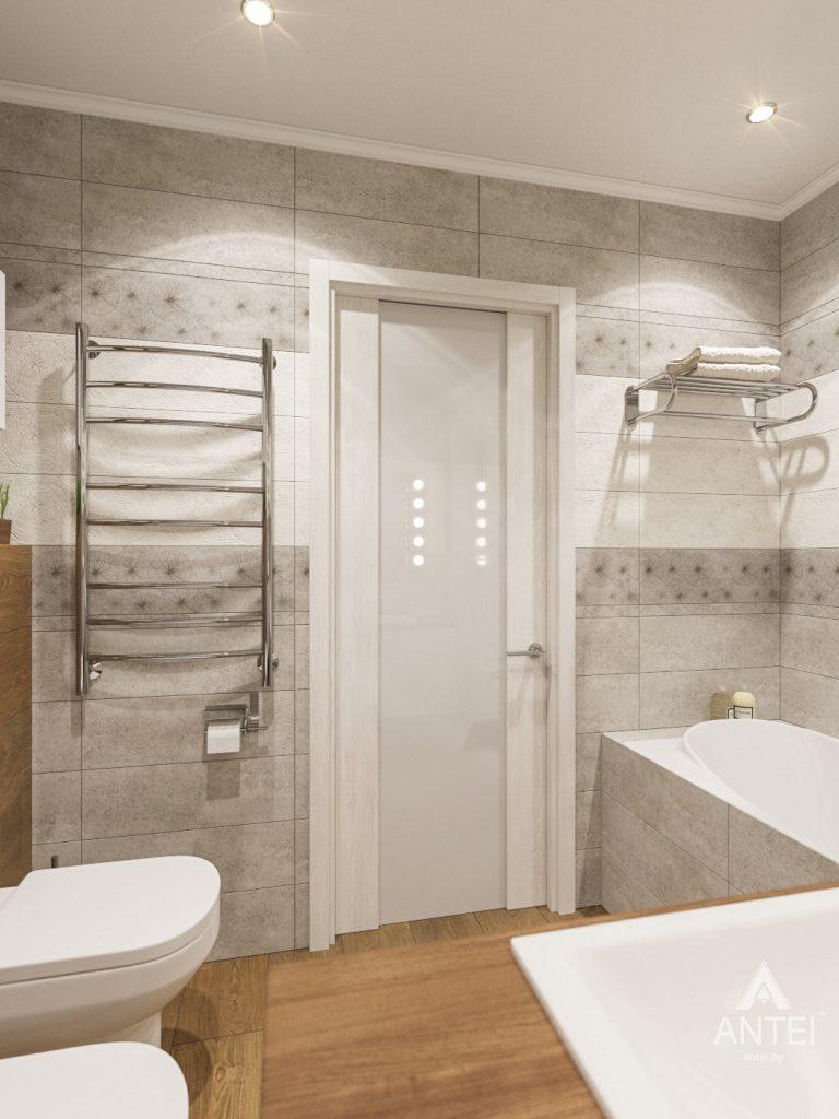 Дизайн интерьера двухкомнатной квартиры в Гомеле - ванная фото №4
