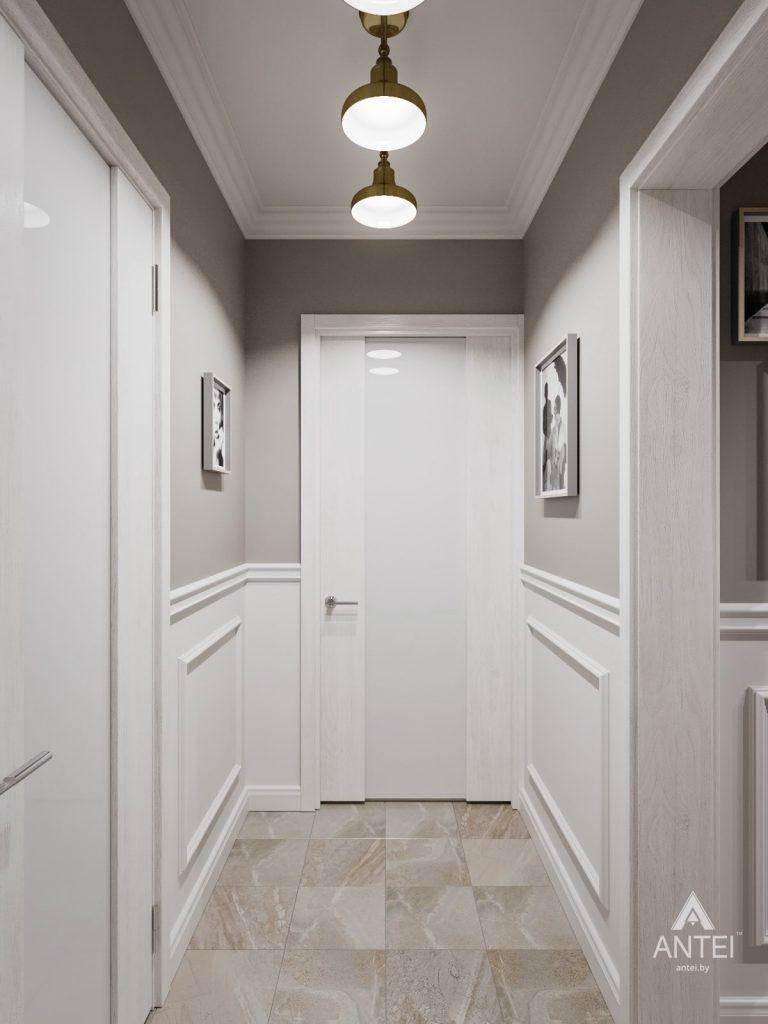 Дизайн интерьера двухкомнатной квартиры в Гомеле - прихожая фото №4