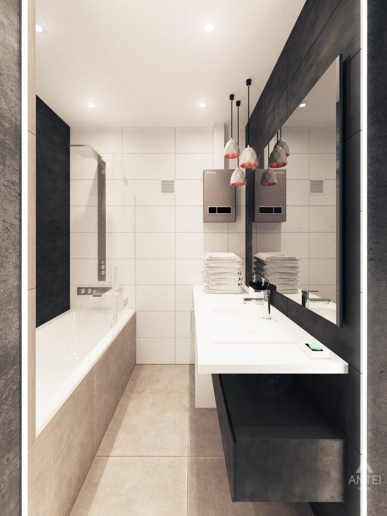 Дизайн интерьера квартиры в Гомель, пр. Ленина - санузел фото №3