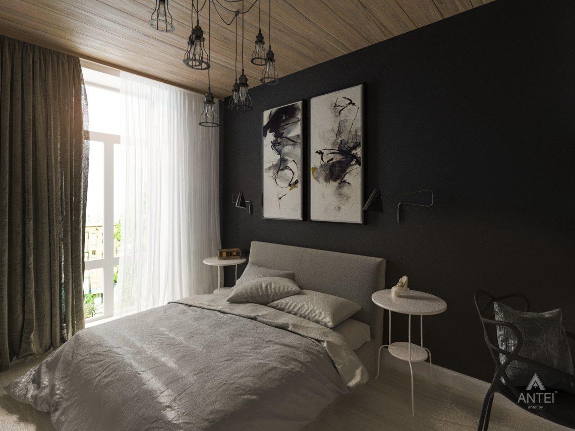 Дизайн интерьера квартиры в Гомель, пр. Ленина - спальня фото №2