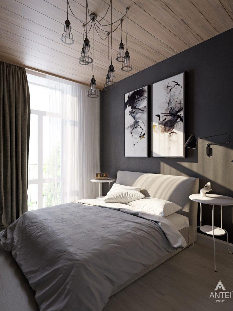 Дизайн интерьера квартиры в Гомель, пр. Ленина - спальня фото №1