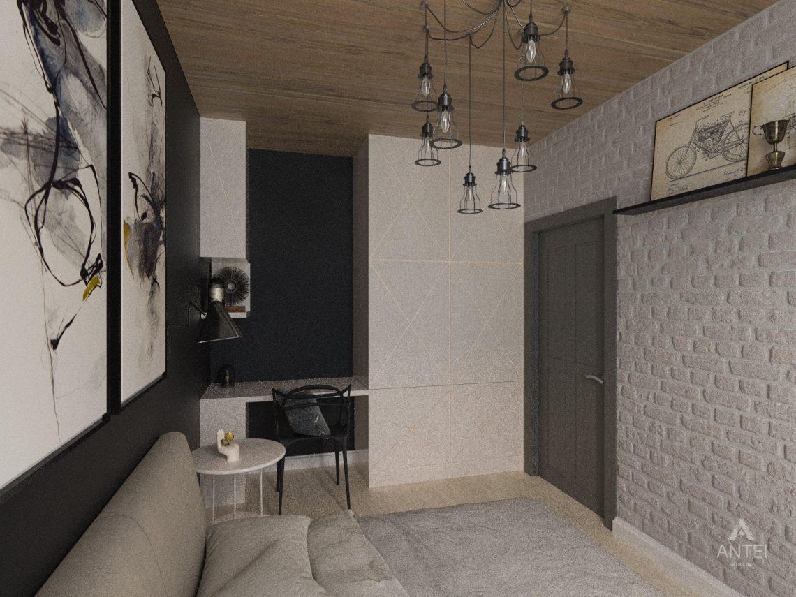 Дизайн интерьера квартиры в Гомель, пр. Ленина - спальня фото №4