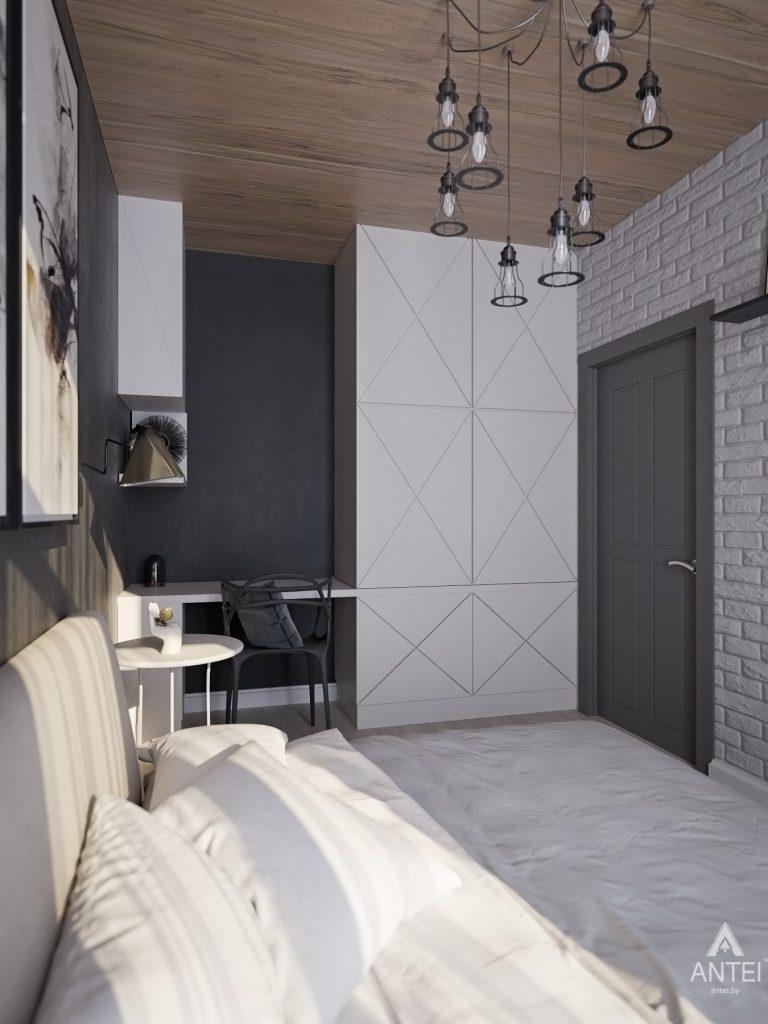 Дизайн интерьера квартиры в Гомель, пр. Ленина - спальня фото №3