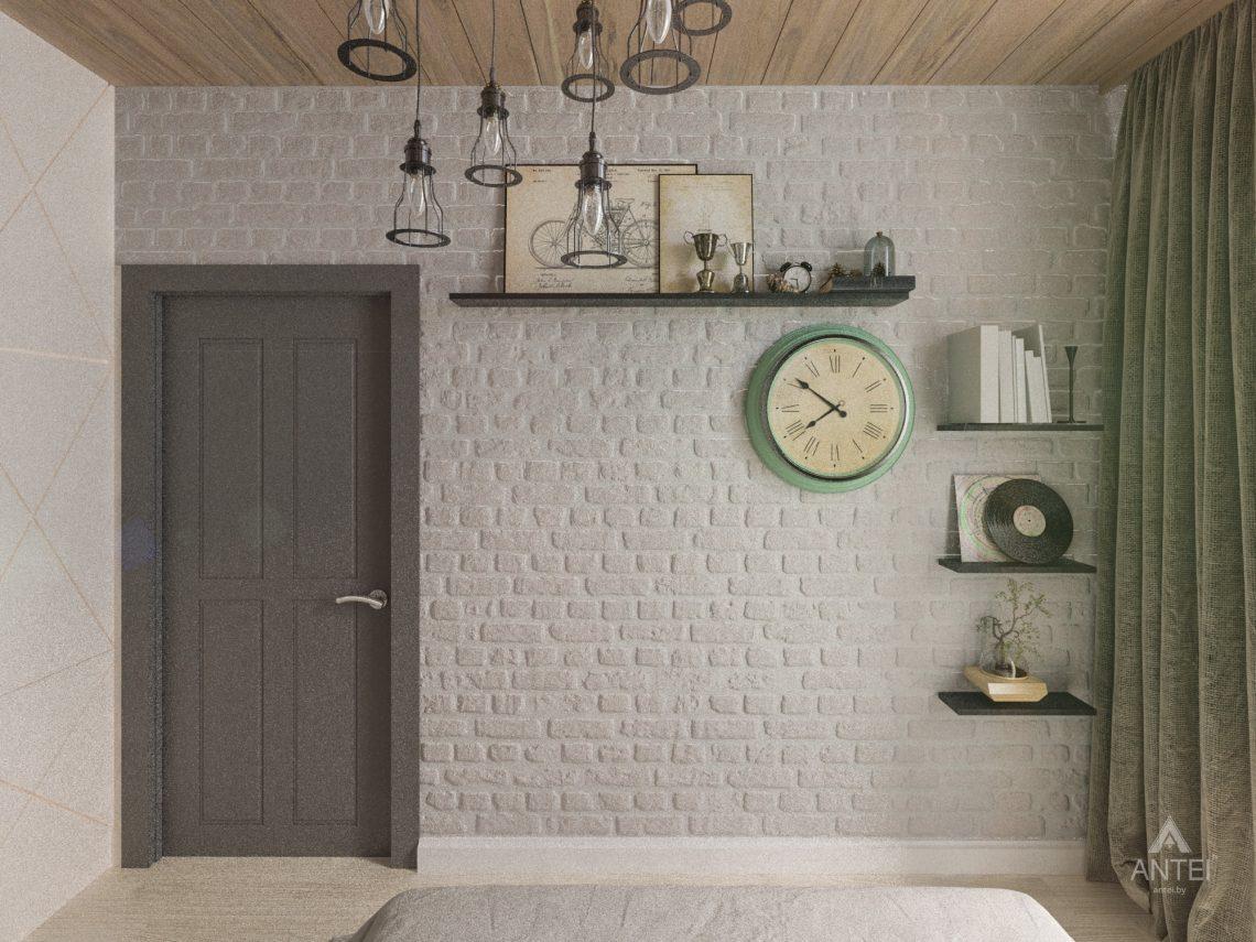 Дизайн интерьера квартиры в Гомель, пр. Ленина - спальня фото №6