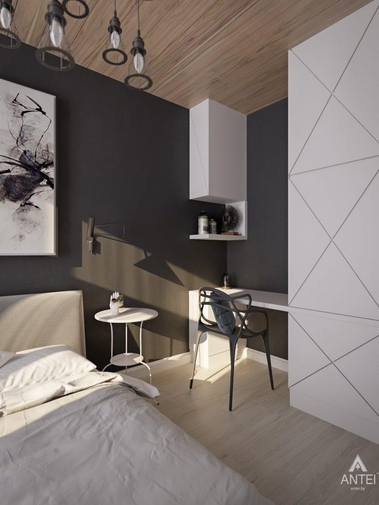 Дизайн интерьера квартиры в Гомель, пр. Ленина - спальня фото №7