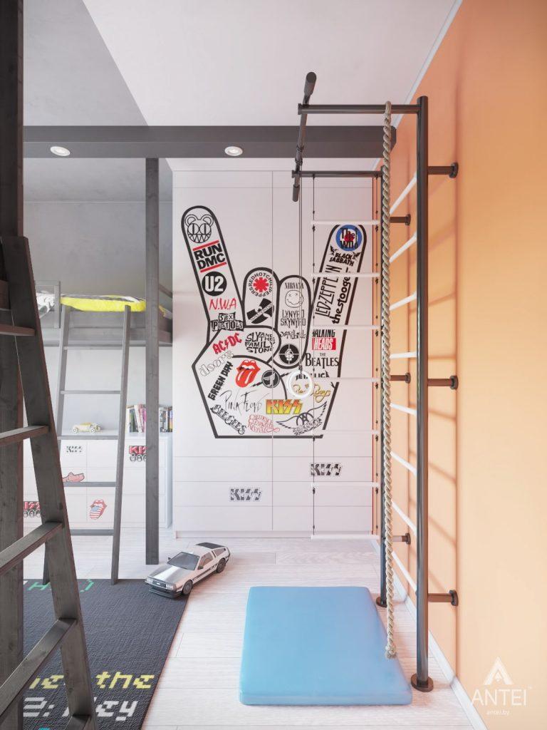 Дизайн интерьера квартиры в Гомеле, ул. Пенязькова - детская комната фото №2