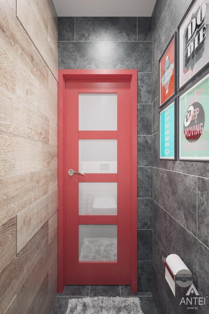 Дизайн интерьера квартиры в Гомеле, ул. Пенязькова - санузел фото №1