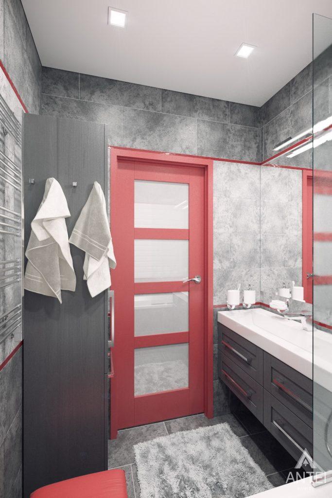 Дизайн интерьера квартиры в Гомеле, ул. Пенязькова - санузел фото №3