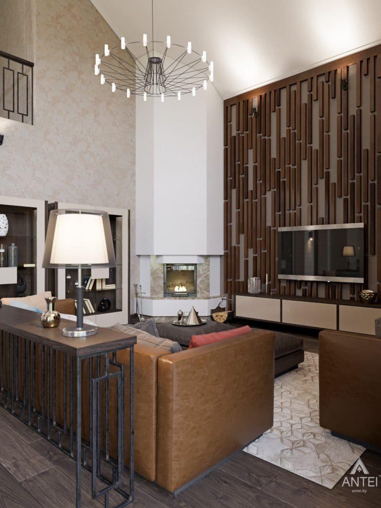 Дизайн интерьера квартиры в Гомеле, ул. Пенязькова - гостиная фото №4