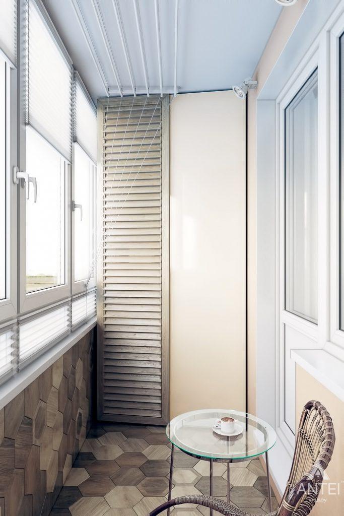 Дизайн интерьера квартиры в Гомеле, ул. Мазурова - балкон фото №2