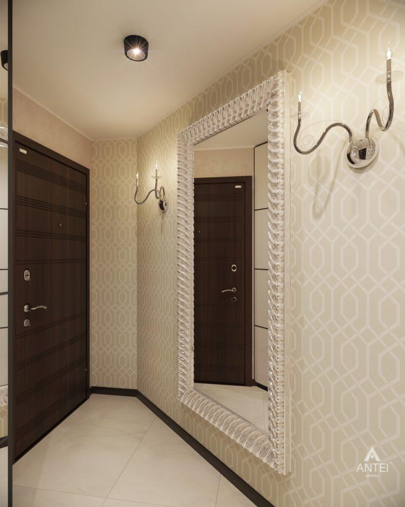 Дизайн интерьера 1-комнатной квартиры в Гомеле, ул. Пенязькова - прихожая фото №2