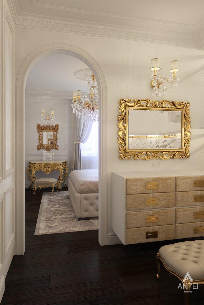 Дизайн интерьера квартиры в Минске, пр. Победителей - спальня фото №1