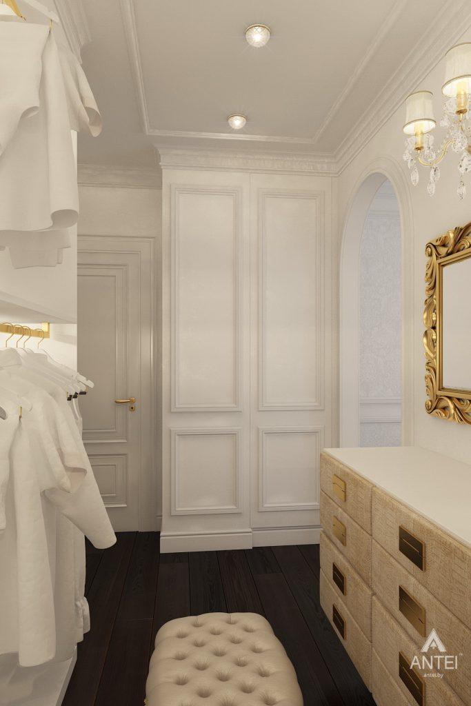 Дизайн интерьера квартиры в Минске, пр. Победителей - гардеробная фото №2