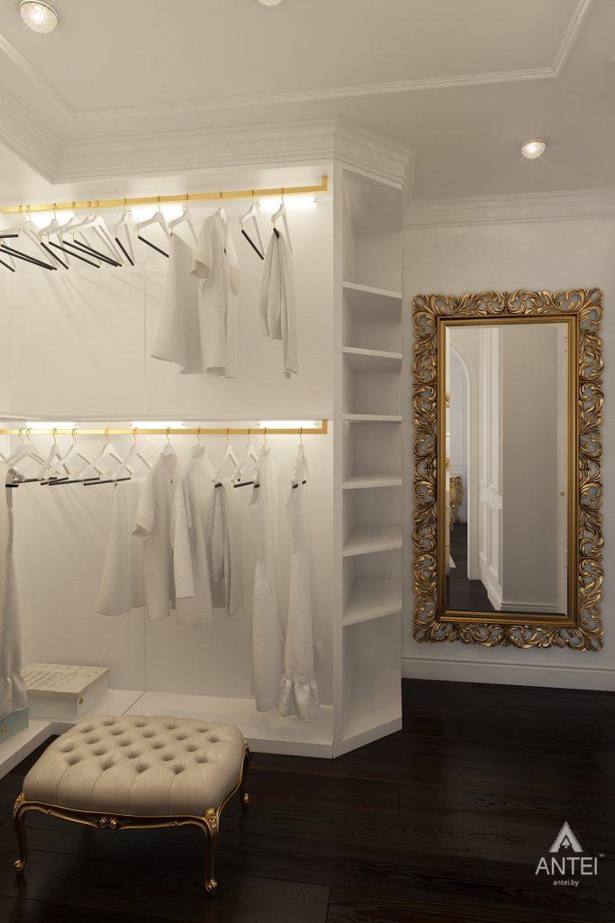 Дизайн интерьера квартиры в Минске, пр. Победителей - гардеробная фото №3