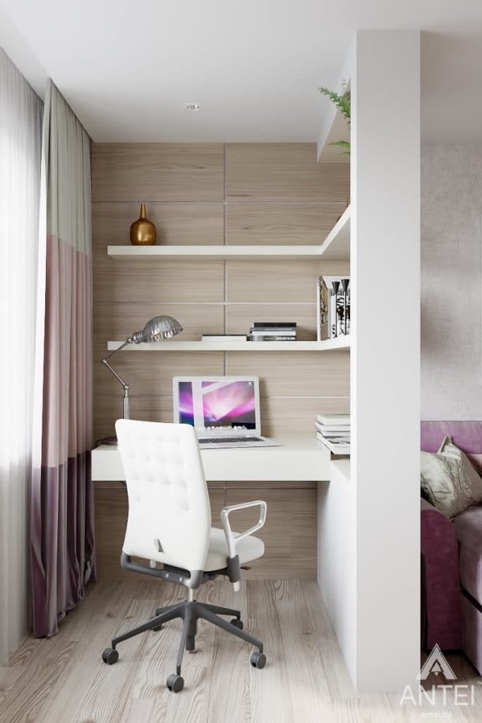 Дизайн интерьера квартиры в Гомеле, ул. Мазурова - гостиная фото №3