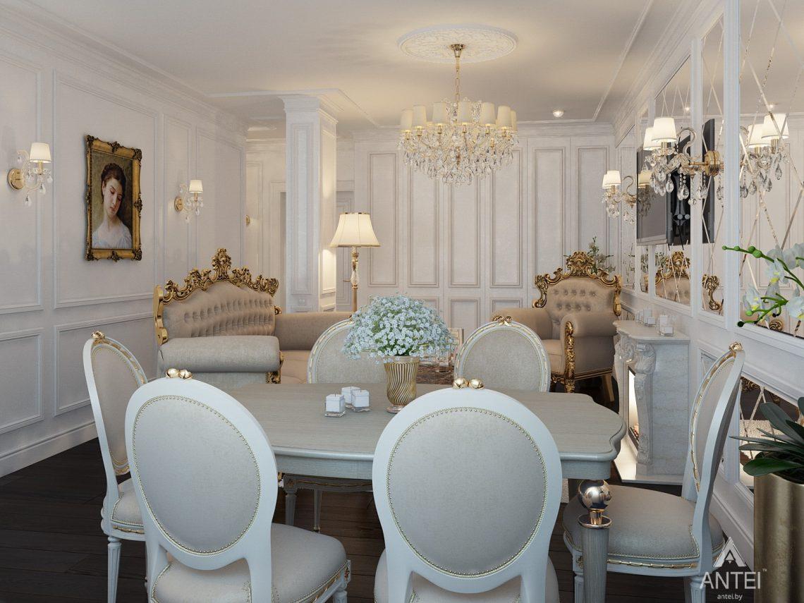 Дизайн интерьера квартиры в Минске, пр. Победителей - гостиная фото №3